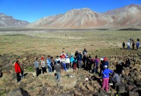 Diario Los Andes: Gran hallazgo arqueológico en la Laguna del Diamante