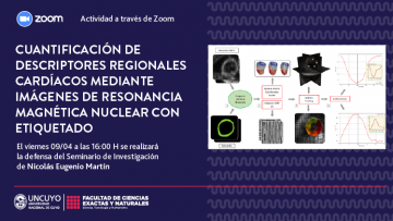 Defensa de Seminario de Investigación de Nicolás Eugenio Martín