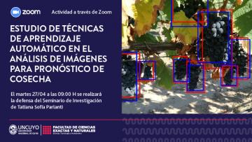 Defensa de Seminario de Investigación de Tatiana Sofía Parlanti